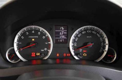 Suzuki Dashboard Warning Lights 2011 Suzuki Aussie Motoring