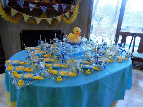 duck decorations home rubber ducky centerpiece ideas view of table with