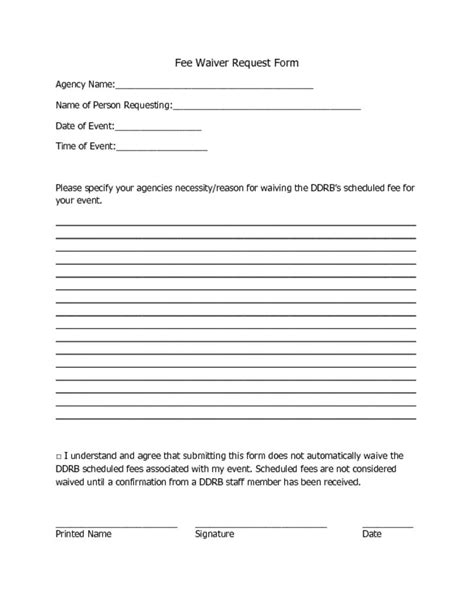 waiver form fee waiver driverlayer search engine