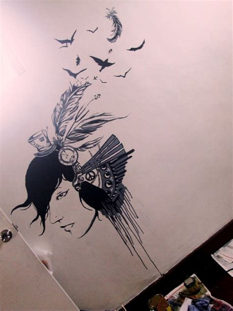 Drawing On Your Bedroom Wall bedroom wall by gothvm on deviantart