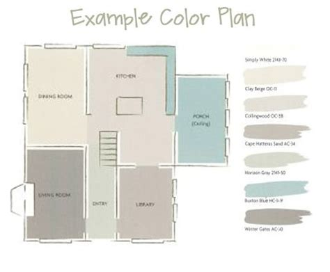 painting an open floor plan different colors a whole house paint color plan paint colors house and