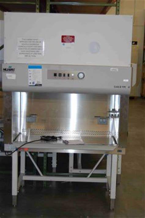 used nuaire biological safety cabinet used nuaire 425 400 class ii type a2 biological safety