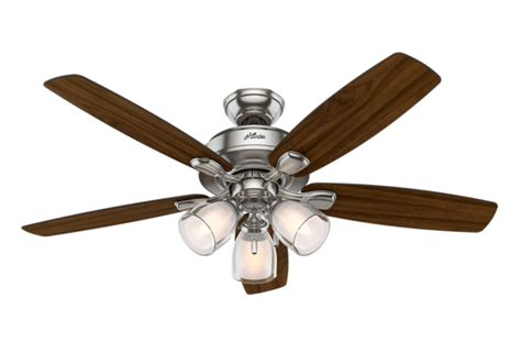 Ceiling Fan Only Works On High Speed by 52 Quot Brushed Nickel Chrome Ceiling Fan Meridale 53306