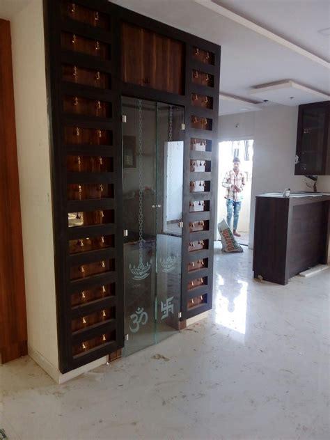 puja room glass door  bells  suit  flats