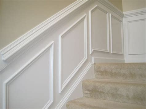 Make Your Own Wainscoting Make Your Own Quot Paneling Quot Look By Putting Moulding Up And A