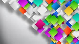 colorful gradient squares loop on clean background on vimeo