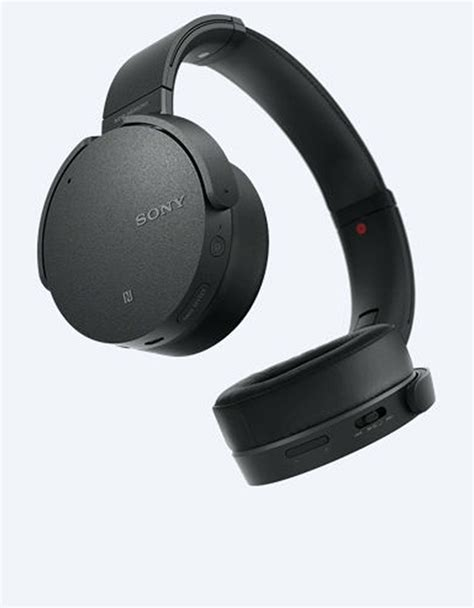 Headset Sony Noise Canceling sony mdr xb950n1 black bass bluetooth noise cancelling headphones on ear headphones