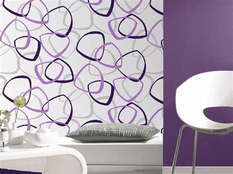 Tapisserie Violette by Papier Peint Design Violet De Couleur Mauve Photo 1 15