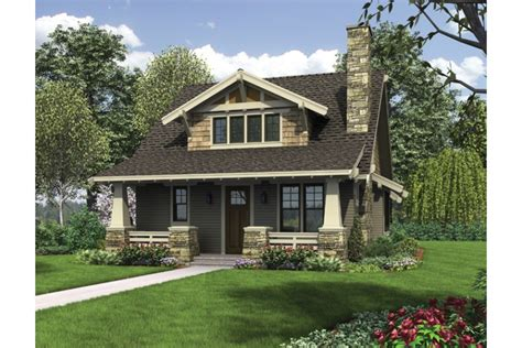 Ama Home Design Catalog classic craftsman bungalow with loft hwbdo76515 bungalow
