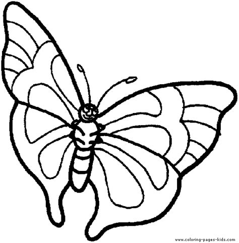 butterfly coloring page education com butterfy color page flying butterfly