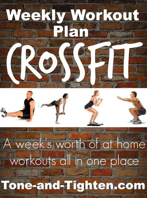 17 best ideas about crossfit workout plan on