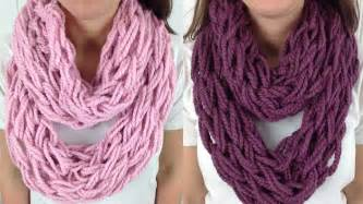 Knit Infinity Scarf Patterns Arm Knitting Scarf Patterns A Knitting