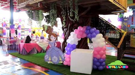 cumplea 241 os decorado de princesa sof 237 a tips de madre sofia the first decoraciones para fiestas decoracion