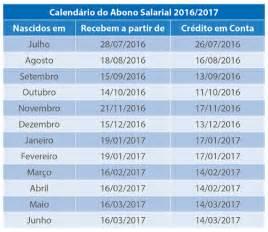 Calendario Pis 2016 E 2017 Confira O Calend 225 De Saque E Os Novos Valores Do Abono