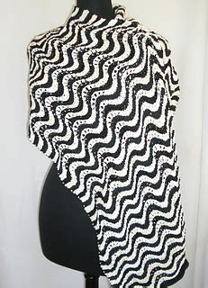 magic waves pattern ravelry magic waves shawl pattern by andra asars