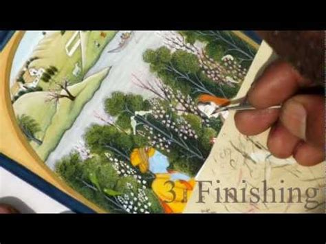 Painting G With A Twist by Pahari Miniature Painting The Technique