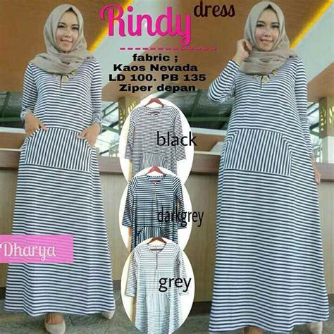 Rindy Dress by Gamis Remaja Rindy Dress Model Baju Gamis Terbaru