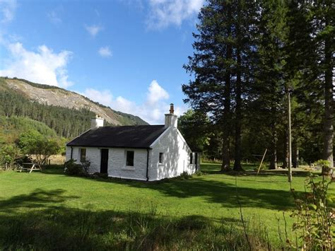 detatched 2 bed stone cottage for sale in glen hurich