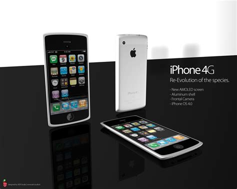 d iphone 3d сoncept of future iphone 4g iphoneroot