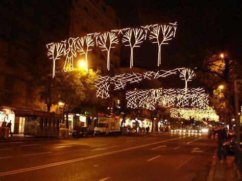 arboles de dise o navidad 2006 en madrid fotos de