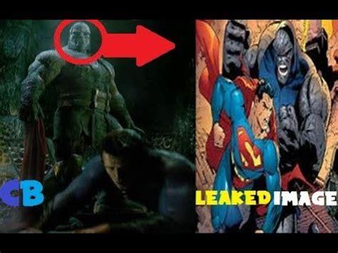 justice league film darkseid superman vs darkseid image from justice league leaked
