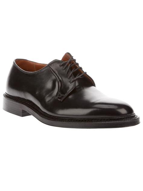 shoes for horseback alden leather shoe in black for lyst
