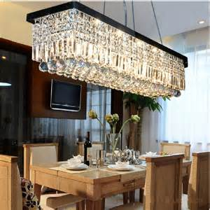 table chandelier pictures