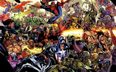 collage of marvel and dc characters hd wallpaper and heroes wallpapers wallpaper cave
