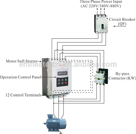 wiring a vfd to a 3 phase motor wiring diagram with