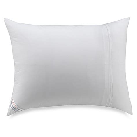 bed bug pillow protectors allergy luxe 174 bed bug pillow protector bed bath beyond