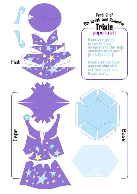 Papercraft Tutor - http paper toys eu wp content uploads 2013 05 trixie my