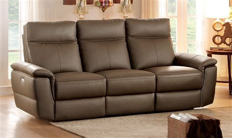 top grain leather reclining sofa homelegance olympia top grain raisin leather power