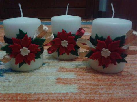 candele decorate per natale candele decorate χριστούγεννα candles
