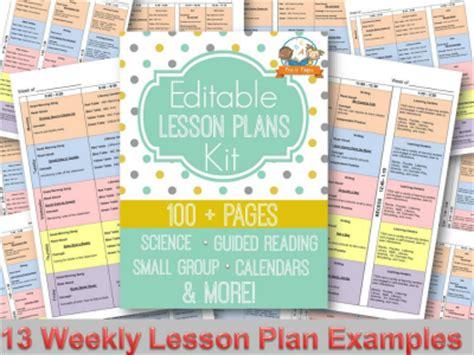 electronic lesson plan template kindergarten calendar template calendar template 2016