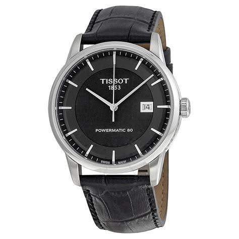 tissot luxury automatic black s