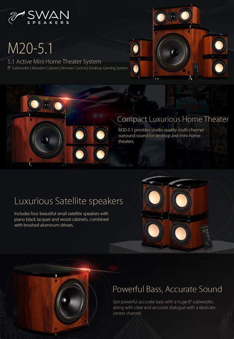 amazoncom swan speakers    powered