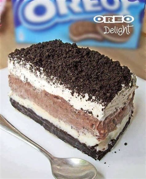 16 Ingredients And Directions Of Orange White Chocolate Cheesecake Receipt by Best 25 Oreo Delight Ideas On Oreo Lasagna