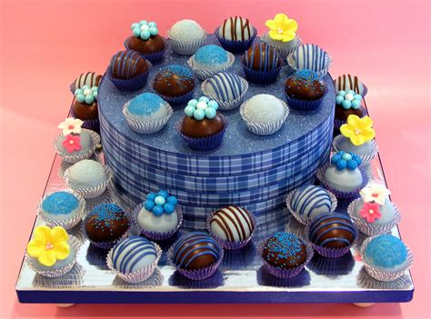 Decorating Home For Wedding by Blue Cake Ball Display Top View 171 Cake Dreams Amp Cookie