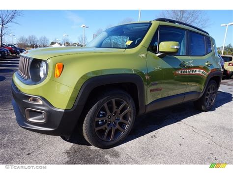 jeep renegade green 2016 jungle green jeep renegade 75th anniversary