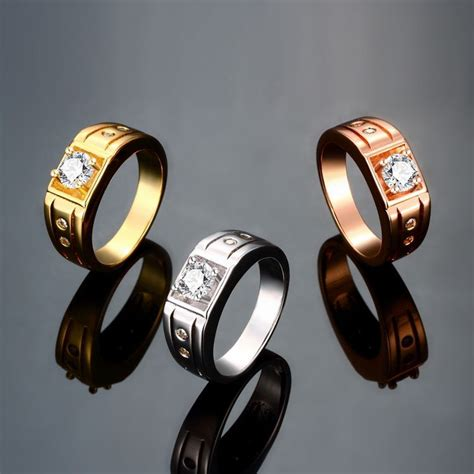 2015new stainless steel wedding ring for and his