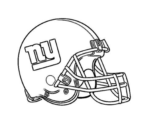 football helmet  york giants coloring page  kids