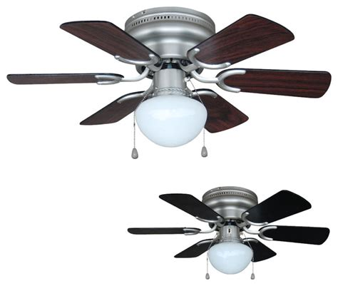 Traditional Ceiling Fan With Light Satin Nickel 30 Quot Hugger Ceiling Fan With Light Kit