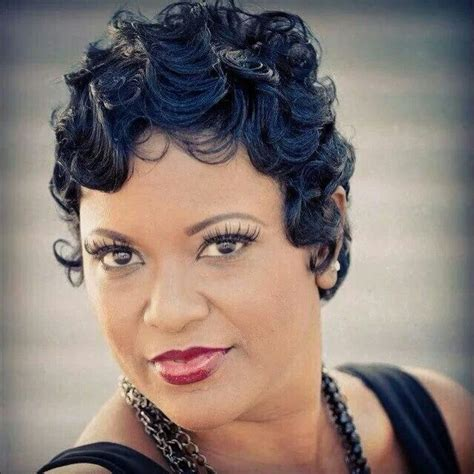 wedding hairstyle with finger wave african american black hair finger waves hairstyles thirstyroots filmvz
