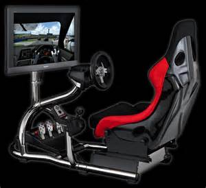 Steering Wheel For Ps4 With Seat Trak Racer Rs8 Racing Simulator Cockpit Simulation