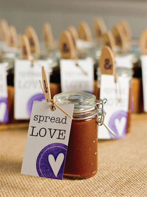 How To Make Wedding Giveaways - how to make apple butter wedding favors hgtv