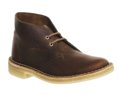 Clarks High Leather Premium Quality 0103 clarks originals desert boots beeswax leather ankle boots