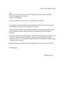 ejemplo de carta de renuncia a la universidad