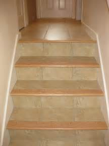 Porcelain Tile Stairs by Clipper Masonry