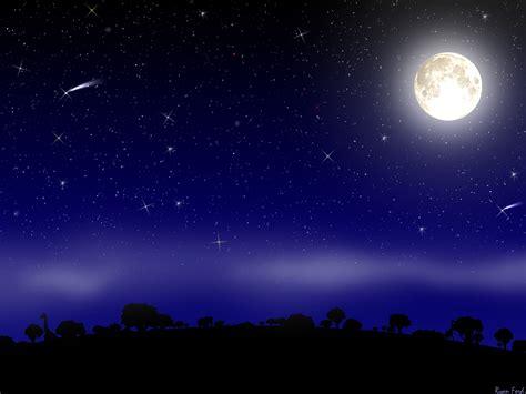 wallpaper bulan bintang hd ночь и луна фон для рабочего стола обои и картинки на