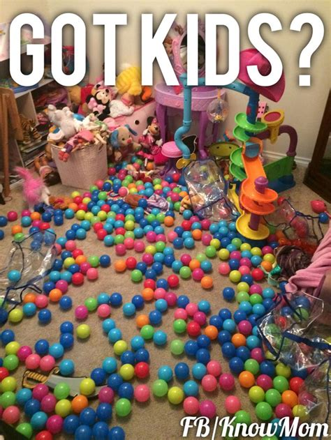 Ball Pit Meme - those darn balls never stay in the ball pit funny